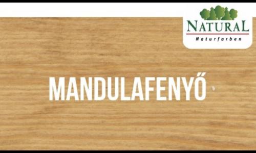 Mandulafenyő színű Fa-Lazúrfesték  0.75 liter