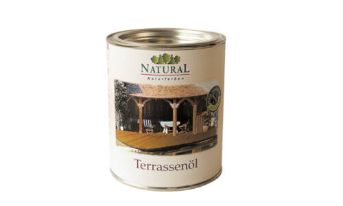 Natural teraszolaj 0,75 liter (vörösfenyő)