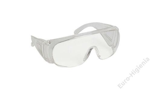 Védőszemüveg,víztiszta,Optilux,1x