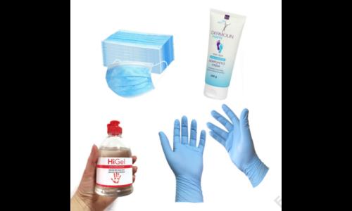 Egészségügyi védőcsomag