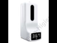 Szenzoros  kézfertőtlenítő adagoló infravörös hőmérővel, állvánnyal